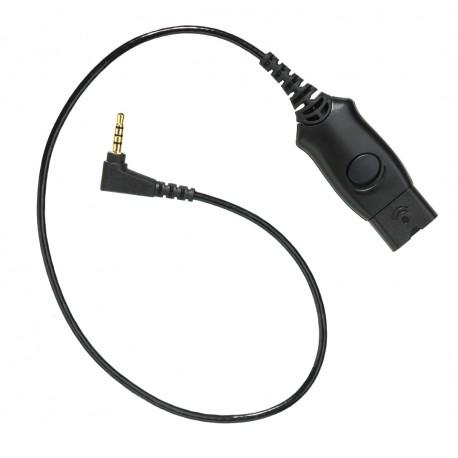 Plantronics Kabel przyłączeniowy do słuchawek serii HW, 3,5mm
