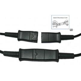 Plantronics U10P Kabel przyłączeniowy do słuchawek serii HW,