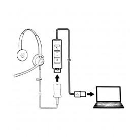 Plantronics DA70  - Adapter USB  do słuchawek serii HW,