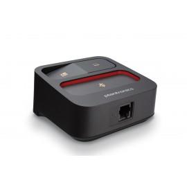 Plantronics MDA100 QD - hub komunikacyjny do komputera i telefonu stacjonarnego oraz słuchawek QD