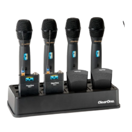 Zestaw III – osiem mikrofonów bezprzewodowych