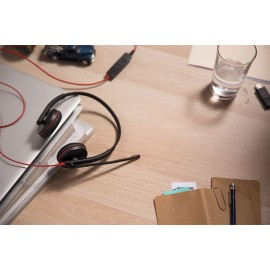 Plantronics Blackwire 3200 -Słuchawka UC z gniazdem USB