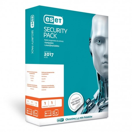 ESET Security Pack 1PC + 1Smartphone (Dla domu i firmy)